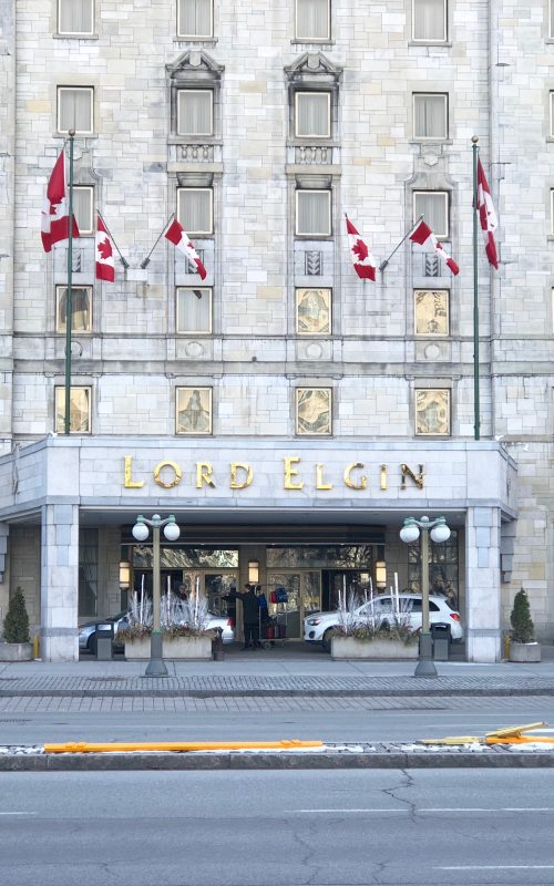 Lord Elgin Hotel & A Glimpse of Ottawa